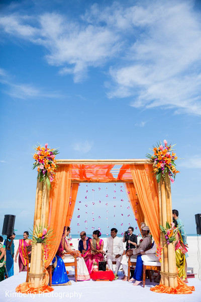 destination indian wedding,outdoor ceremony,indian wedding ceremony,mandap,ceremony decor,floral and decor,outdoor,outdoor mandap