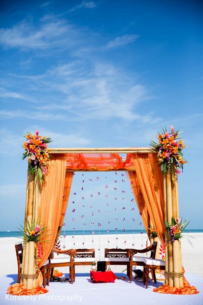 destination indian wedding,outdoor ceremony,indian wedding ceremony,mandap,outdoor mandap,ceremony decor,floral and decor