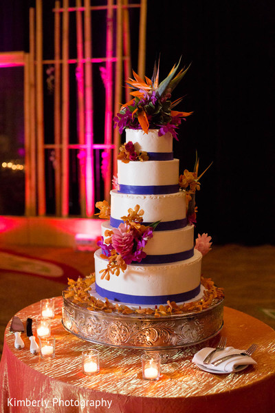 Destination Reception in Marco Island, Florida Destination Indian Wedding by Kimberly Photography
