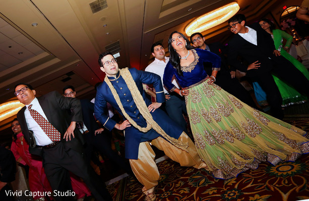Reception in Long Island, NY Indian Wedding by Vivid Capture Studio
