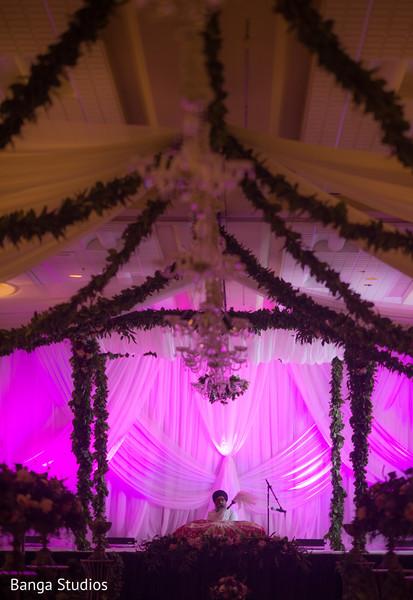 sikh wedding ceremony,sikh ceremony,sikh wedding,ceremony,mandap,ceremony decor