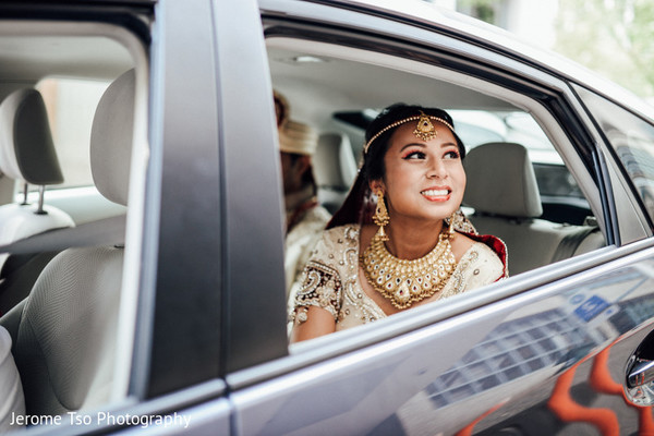 Bridal Portrait in Seattle, WA South Asian Wedding by Jerome Tso Photography