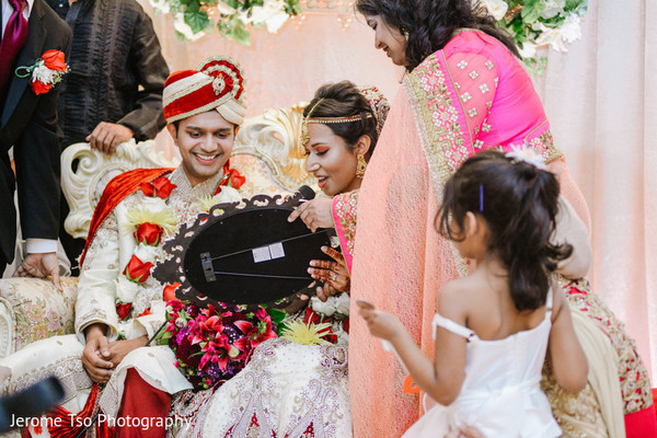 Ceremony in Seattle, WA South Asian Wedding by Jerome Tso Photography