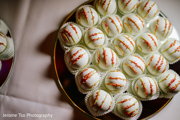 Cakes & Treats in Seattle, WA South Asian Wedding by Jerome Tso Photography