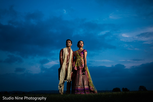Pre-Wedding Portraits in Princeton, NJ Indian Wedding by Studio Nine Photography