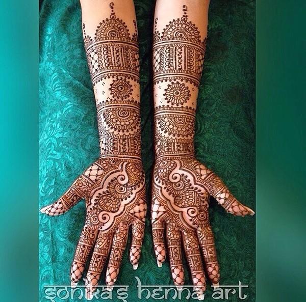 Punjabi Tattoos Posts: 2015 Mehndi Maharani Finalist: Sonika's Henna Art