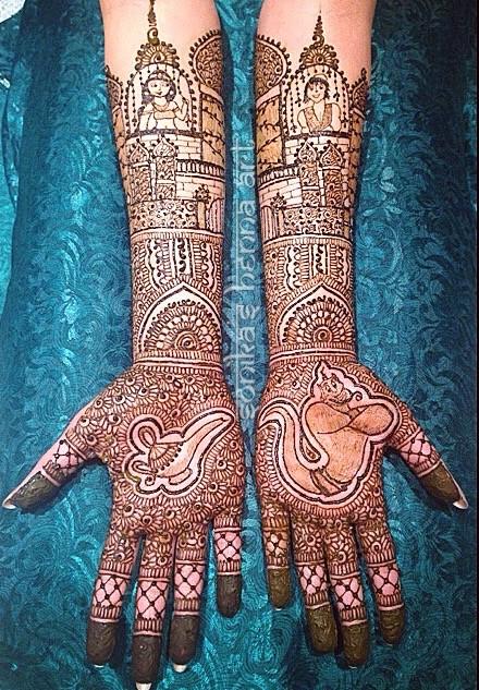 2015 Mehndi Maharani Finalist Sonika S Henna Art Photo 50948
