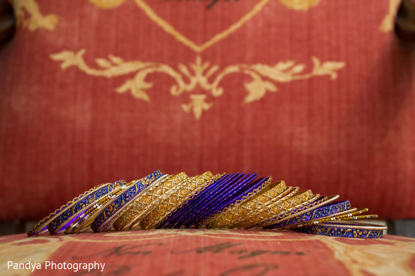 Bangles in Rockleigh, NJ Indian Wedding by Pandya Photography