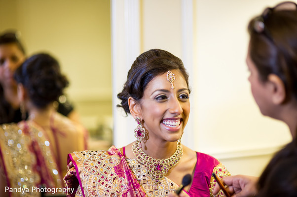 Getting Ready in Rockleigh, NJ Indian Wedding by Pandya Photography