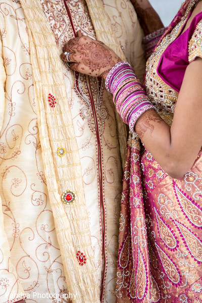 First Look in Rockleigh, NJ Indian Wedding by Pandya Photography