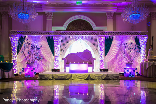 Sweetheart Stage in Rockleigh, NJ Indian Wedding by Pandya Photography