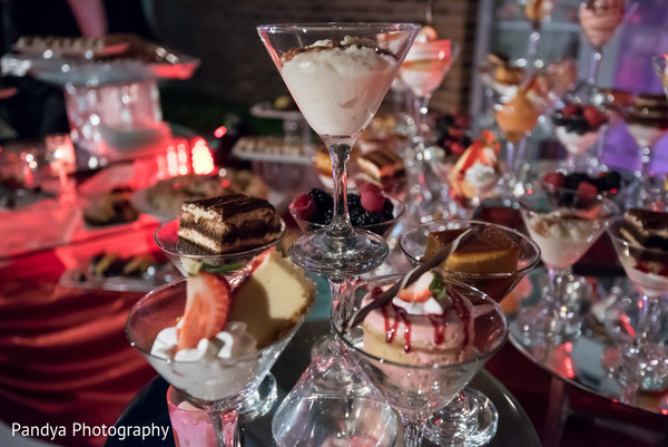 Dessert Table in Rockleigh, NJ Indian Wedding by Pandya Photography