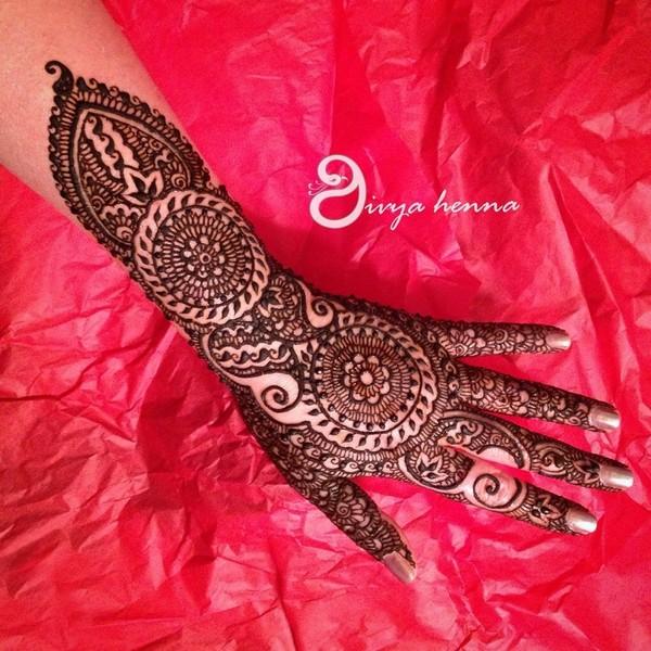 2015 Mehndi Maharani Finalist Divya Henna Photo 51225
