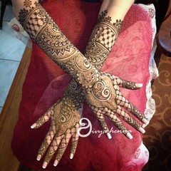 Mehndi Maharani 2015 Finalist Divya Henna Pictures Gallery 1191
