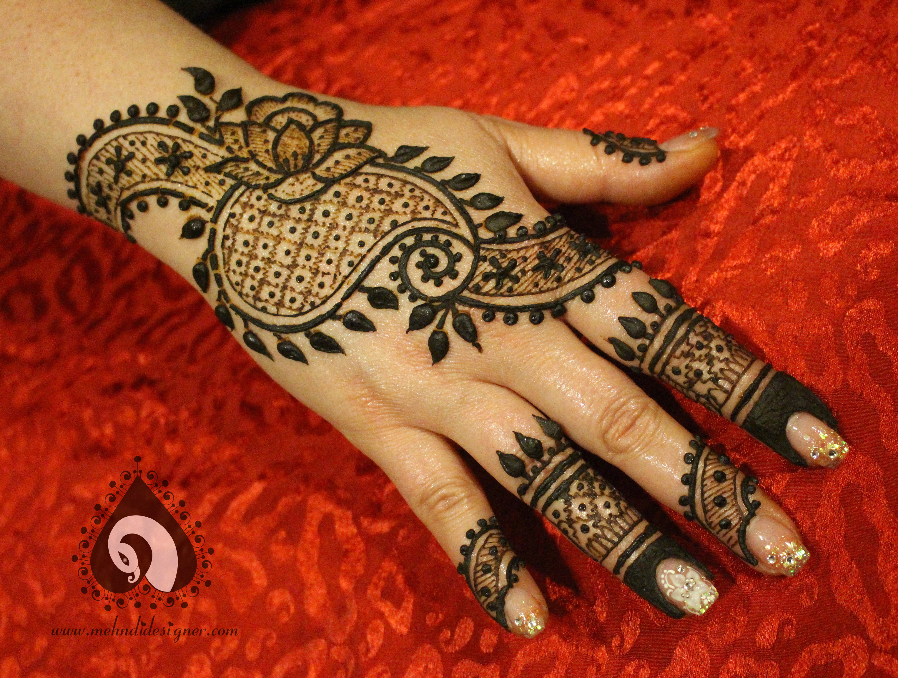 2015 Mehndi Maharani Finalist Mehndi Designer | Photo 51269