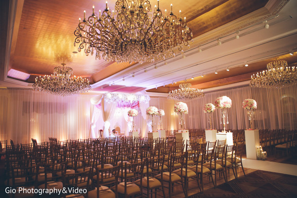 Ceremony in Garden City, NY Indian Wedding by Gio Photography & Video
