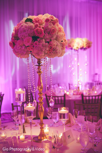 Reception in Garden City, NY Indian Wedding by Gio Photography & Video
