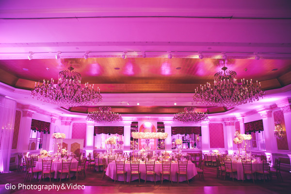 indian wedding reception,reception,reception decor,floral and decor,reception venue,venue,chandeliers