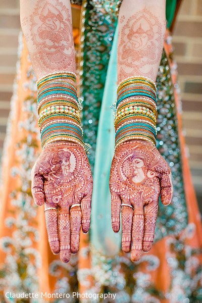 Mehndi in New York, NY Indian Wedding by Claudette Montero Photography