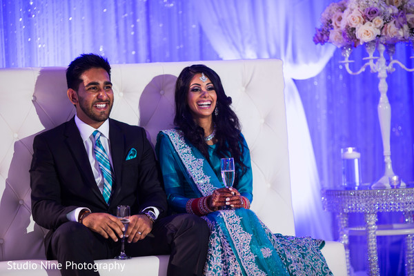 Reception in McLean, VA Sikh Indian Wedding by Studio Nine Photography