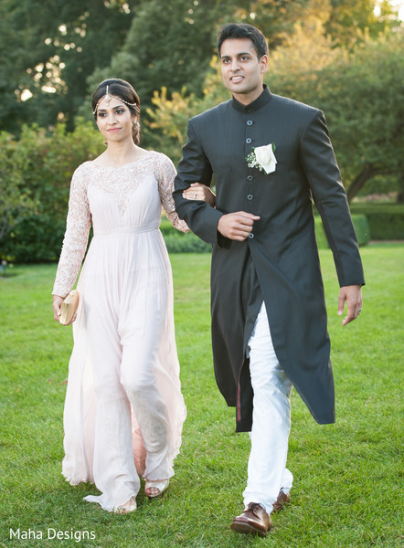 Ceremony in Lisle, IL Pakistani Wedding by Maha Designs