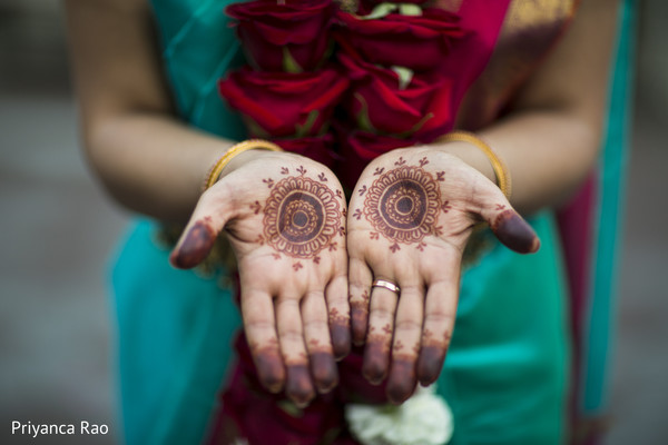 Mehndi in Bronx, NY Indian Wedding by Priyanca Rao Photography