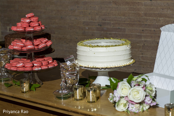 Dessert Table in Bronx, NY Indian Wedding by Priyanca Rao Photography