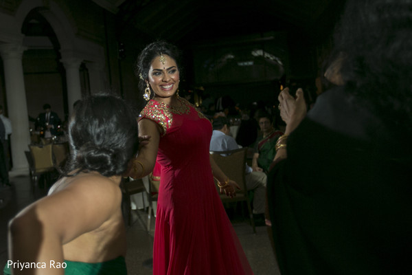 Reception in Bronx, NY Indian Wedding by Priyanca Rao Photography