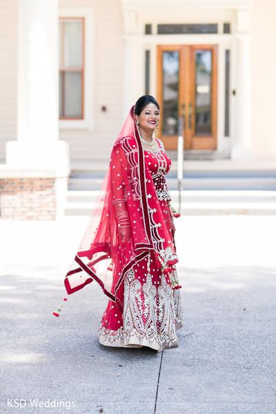indian wedding first look,indian wedding first look portraits,indian wedding portraits,outdoor indian wedding portraits,indian bridal fashions,indian wedding lengha