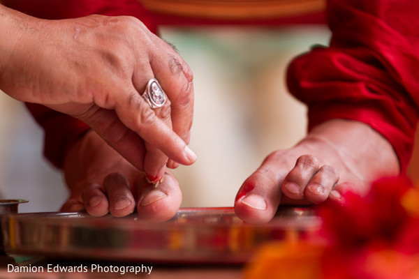 Ceremony in Woodland Park, NJ Indian Wedding by Damion Edwards Photography