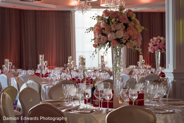 Floral & Decor in Woodland Park, NJ Indian Wedding by Damion Edwards Photography