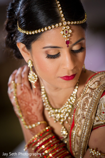 Makeup in Jersey City, NJ Indian Wedding by Jay Seth Photography