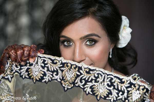 Reception Fashion in National Harbor, MD Indian Wedding by AVS Photo & Video