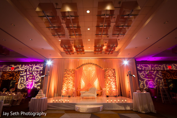 Floral & Decor in Jersey City, NJ Indian Wedding by Jay Seth Photography