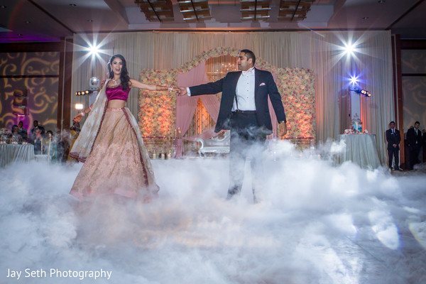 Reception in Jersey City, NJ Indian Wedding by Jay Seth Photography