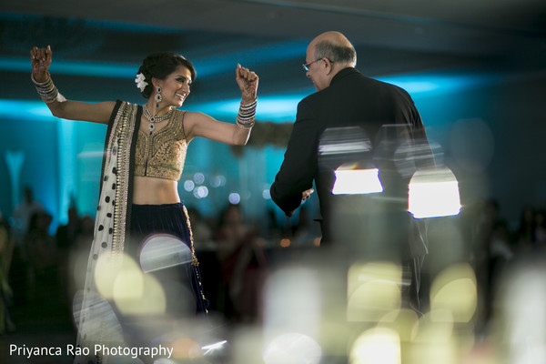Reception in Parsippany, NJ Indian Fusion Wedding by Priyanca Rao Photography