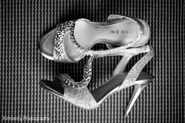 Shoes in Tampa, FL Indian Fusion Wedding by Kimberly Photography