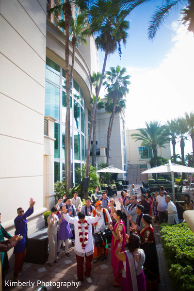 Baraat in Tampa, FL Indian Fusion Wedding by Kimberly Photography
