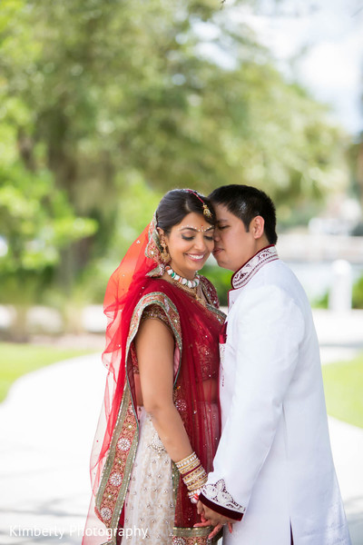 Wedding Portrait in Tampa, FL Indian Fusion Wedding by Kimberly Photography