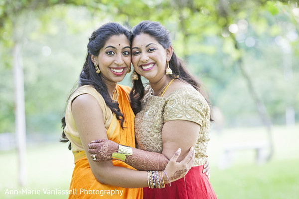 Reception Portrait in Leesburg, VA South Indian Fusion Wedding by Ann-Marie Van Tassell Photography