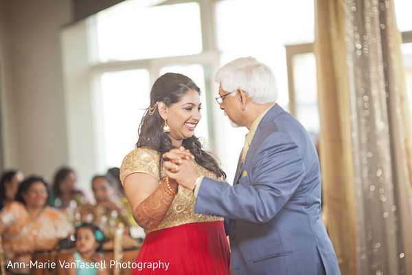 Reception in Leesburg, VA South Indian Fusion Wedding by Ann-Marie Van Tassell Photography