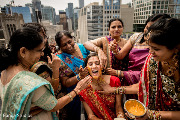 Pithi in Chicago, IL Indian Wedding by Banga Studios