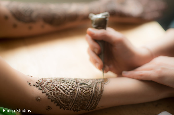 Mehndi in Chicago, IL Indian Wedding by Banga Studios