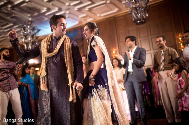 Welcome Dinner in Chicago, IL Indian Wedding by Banga Studios