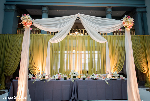 Floral & Decor in Chicago, IL Indian Wedding by Banga Studios