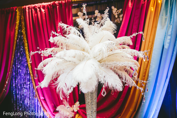Pre-Wedding Decor in Atlanta, GA Indian Wedding by FengLong Photography