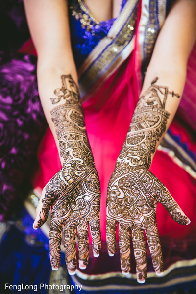 Mehndi in Atlanta, GA Indian Wedding by FengLong Photography