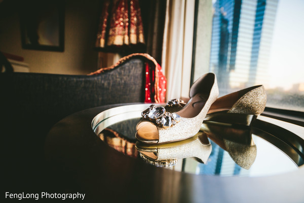 Shoes in Atlanta, GA Indian Wedding by FengLong Photography