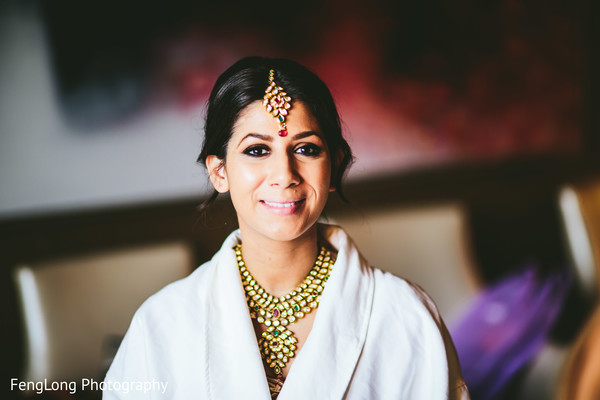 Getting Ready in Atlanta, GA Indian Wedding by FengLong Photography