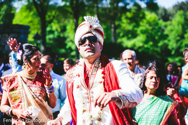 Baraat in Atlanta, GA Indian Wedding by FengLong Photography